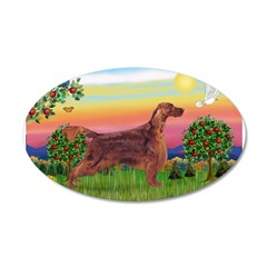 Irish Setter in Bright Countr Wall Decal