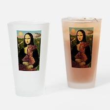Mona's Irish Setter Drinking Glass