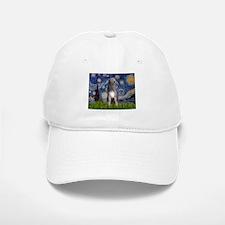 Starry/Irish Wolfhound Baseball Baseball Cap