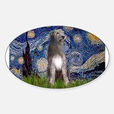 Starry/Irish Wolfhound Decal