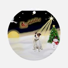 Night Flight/ JRT #1 Ornament (Round)
