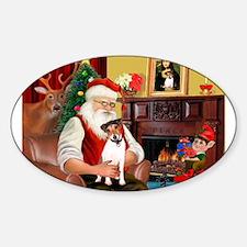 Santa's JRT Decal
