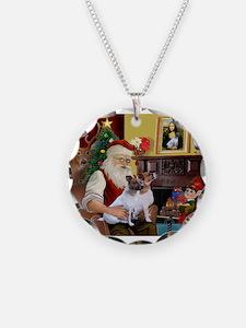 Santa's JRT Necklace
