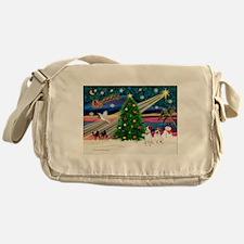 Xmas Magic & JRT pair Messenger Bag