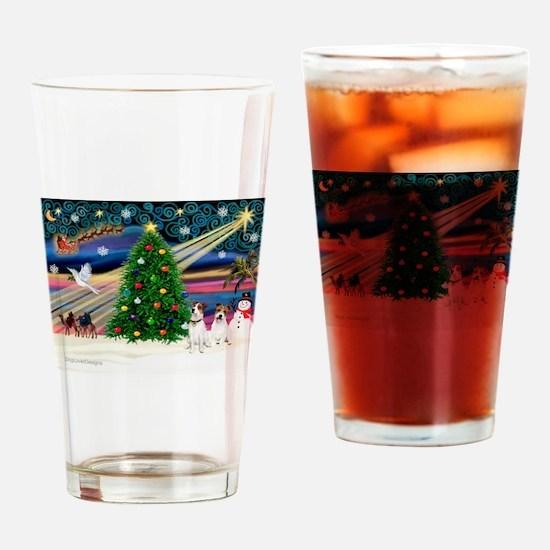 Xmas Magic & JRT pair Drinking Glass