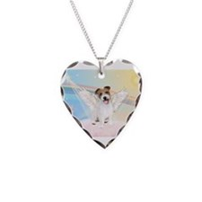 Angel / Jack Russell Terrier Necklace