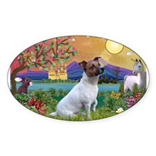 Fantasy Land & Jack Russell Terrier Decal