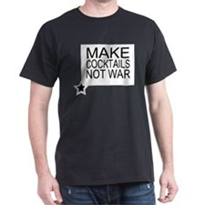 Make Cocktails Not War T-Shirt