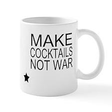 Make Cocktails Not War Small Mug