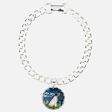 Jack Russell & Lilies Bracelet