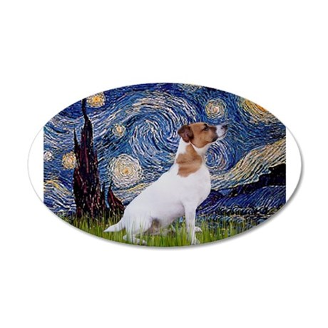 Starry Night / JRT 22x14 Oval Wall Peel
