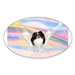 Japanese Chin Angel Sticker (Oval 10 pk)