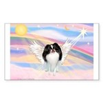 Japanese Chin Angel Sticker (Rectangle)