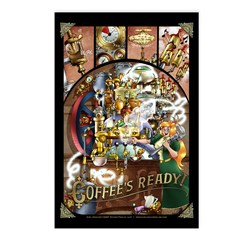 Coffee Engine Postcards (Package of 8)