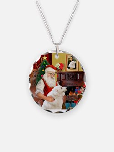 Santa's Kuvasz Necklace