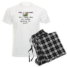 Crochet is hip! Pajamas