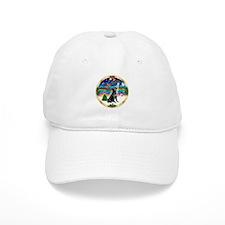 XmasMusic3/Labrador Retriever Baseball Cap