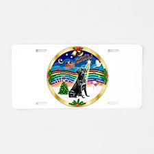 XmasMusic3/Labrador Retriever Aluminum License Pla