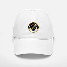Night Flight/Labrador Retrie Baseball Baseball Cap