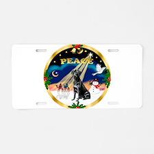 XmasSunrise/Labrador Retrieve Aluminum License Pla