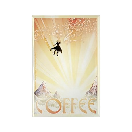 COFFEE Rectangle Magnet (100 pack)