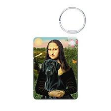 Mona's Black Lab Keychains