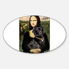 Mona's Black Lab Decal