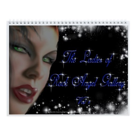 Ladies of Rock angel Gallery Wall Calendar