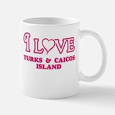 I love Turks & Caicos Island Mugs