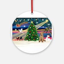 XmasMagic/Lakeland Ter Ornament (Round)