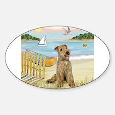 Rowboat & Lakeland T. Sticker (Oval)