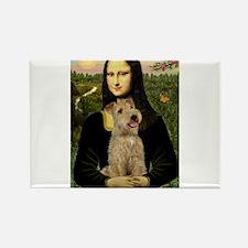 Mona & her Lakeland Rectangle Magnet (10 pack)