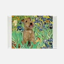 Lakeland T. & Irises Rectangle Magnet (10 pack)