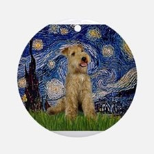 Starry Night Lakeland T. Ornament (Round)