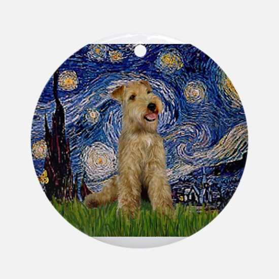 Starry Night Lakeland T. Ornament (Round)