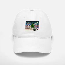 XmasMagic/3 Lhasas Baseball Baseball Cap