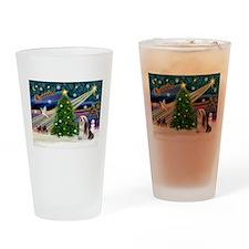 XmasMagic/Lhasa 4 Drinking Glass