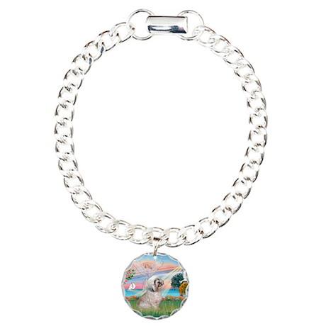 Lhasa Apso Lake Angel / Lhasa Charm Bracelet, One