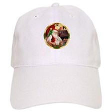 Santa's Maltese 11 Baseball Cap
