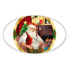 Santa's Maltese 11 Decal