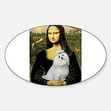 Mona Lisa/Maltese (#6) Decal