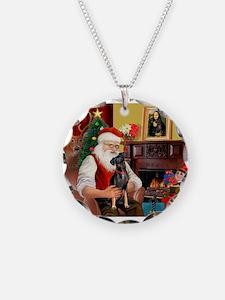 Santa'sMiniature Pinscher Necklace