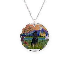 Fantasy Land & Min. Pinscher Necklace