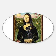 Funny Mona lisa Decal