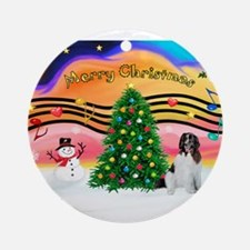 XmasMusic 2MC/Newfie Ornament (Round)