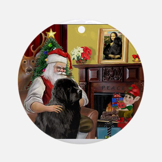 Newfound Christmas Fantasy. Ornament (Round)