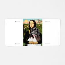 Mona Lisa's Landseer Aluminum License Plate