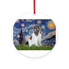 Starry Night / Landseer Ornament (Round)
