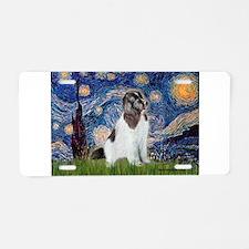 Starry Night / Landseer Aluminum License Plate