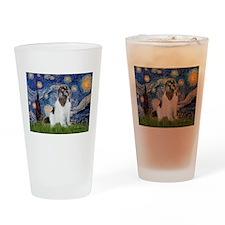 Starry Night / Landseer Drinking Glass